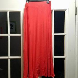 BNWT Ladies Orange Maxi Skirt